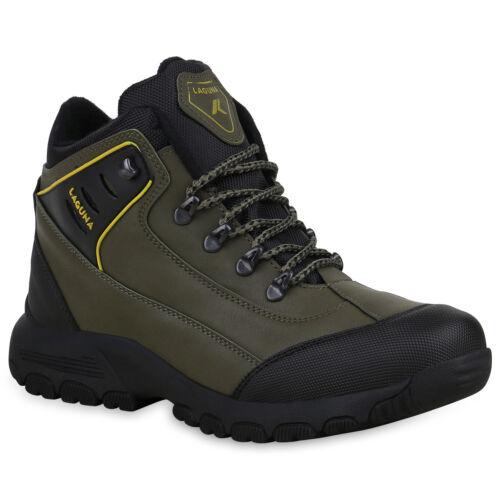 Herren Halbschuhe Outdoor Schuhe Profilsohle Trekking Wanderschuhe 824734 Trendy