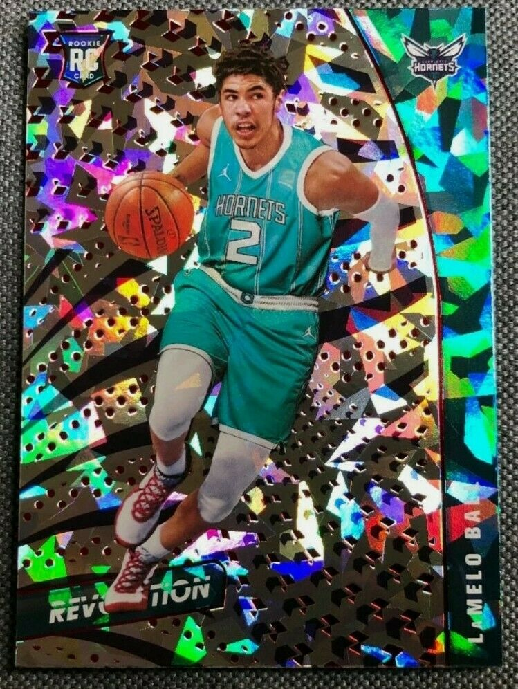 Image 1 - LaMelo Ball 2020-21 Revolution Chinese New Year Cracked Ice RC Rookie Hornets 💥