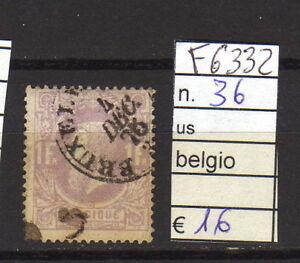 FRANCOBOLLI-BELGIO-USATI-N-36-F6332