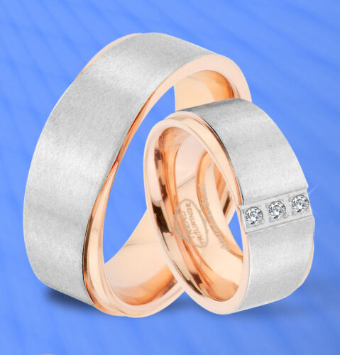 GRAVUR GRATIS JE38 2 Ringe Trauringe Eheringe Verlobungsringe