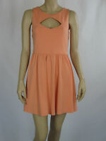 T By Bettina Liano Ladies Fashion Sleeveless Mini Dress Sizes 12 14 Colour Peach