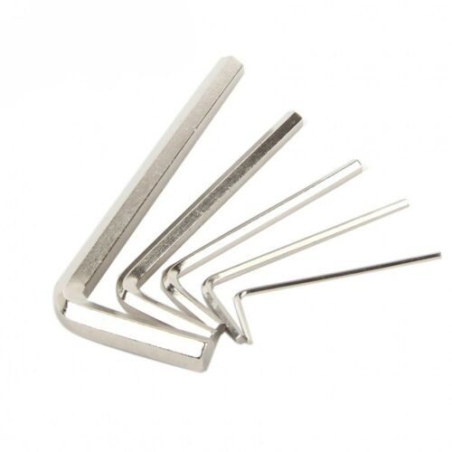 L-shaped Metric Allen Key Hex Wrench 1.5//2//2.5//3//4//5//6//8//10mm Carbon Steel