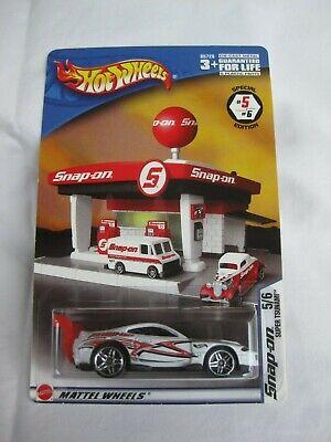 Hot Wheels 2004 Snap-on Esclusivo 5/6 Super Tsumami Nuovo Di Zecca In Carta-mostra Il Titolo Originale