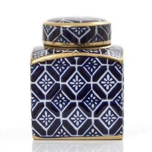 1pce 7.2cmx7cmD Ceramic Pot Planter in Urban Turkish//Moroccan Style