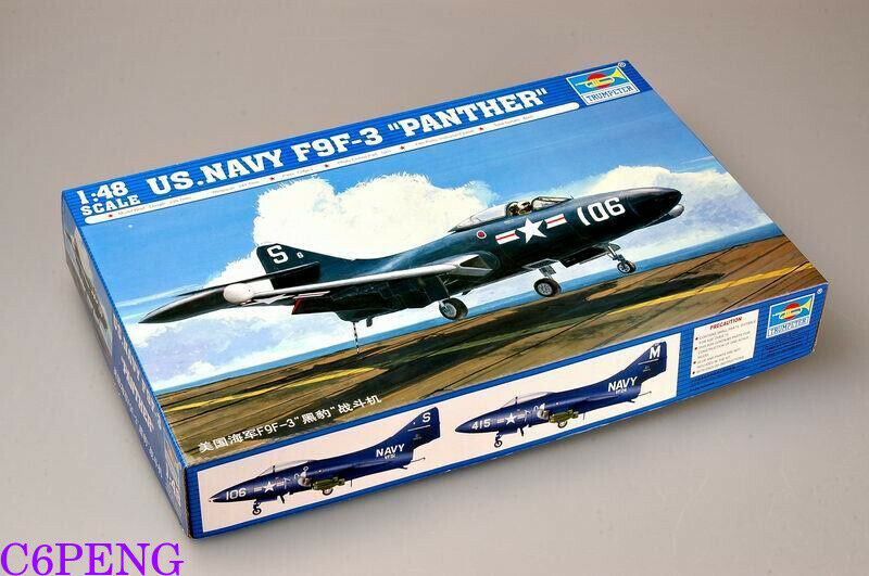 Trumpeter 02834 1 48 U.S. Navy F9F-3 Panther hot