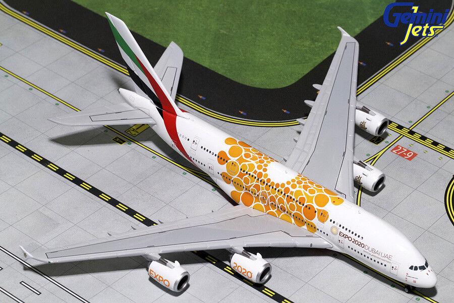 muchas sorpresas Gemini Jets Emiratos Airbus A380-800 1 400 Naranja Expo Expo Expo 2020 gjuae 1815 En Stock  barato en alta calidad
