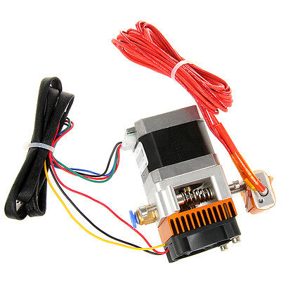 3D printer extruder hot end hotend head set Makerbot MK8 Reprap prusa i3 etc.