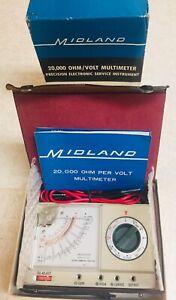 Vintage-RARE-MIDLAND-Model-23-116-Volt-20-000-Ohm-Multimeter-AS-NEW-IN-BOX