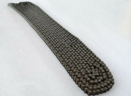 """#25 Single Row Roller Chain 25H-1//04C-1 Pitch 1//4/"""" Roller Chain x 0.5M//4.7M"""