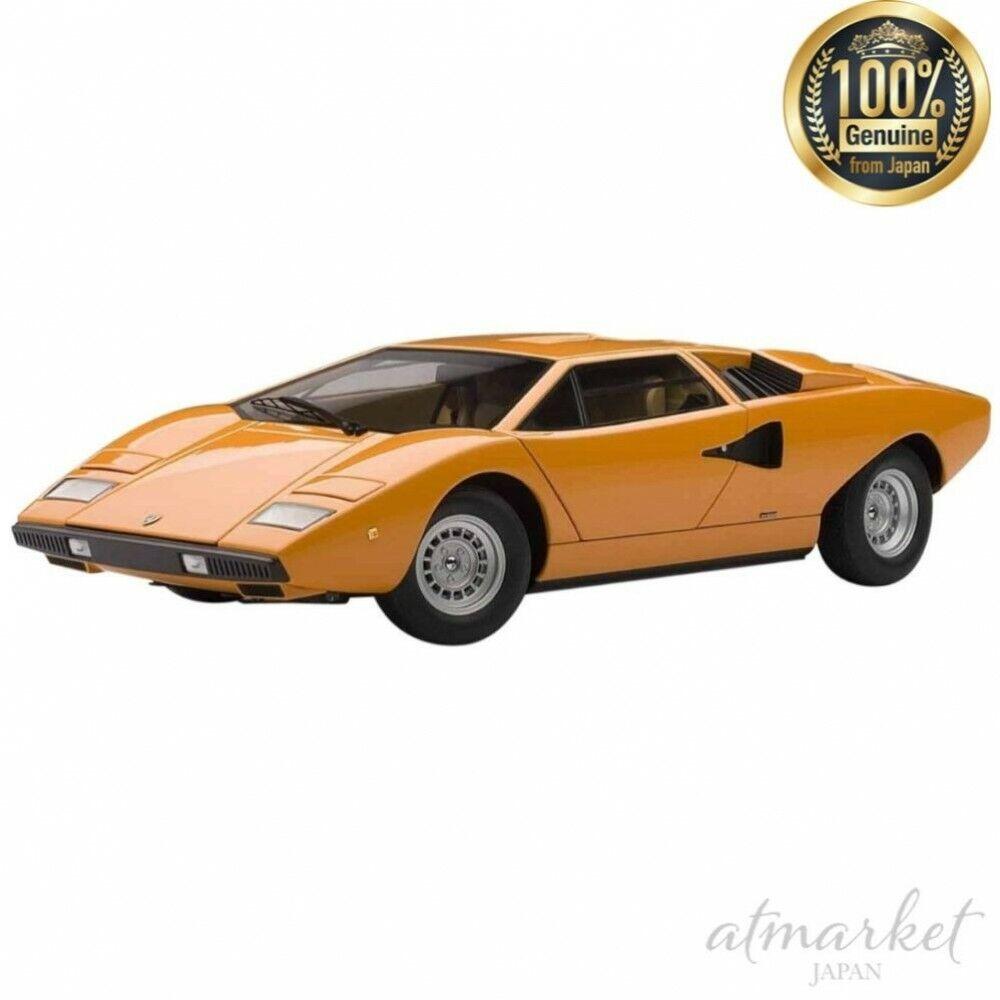 Autoart 1 18 Mini Coche 74647 Lamborghini Countach LP400 arancia terminado de Japón