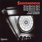 Shostakovich: String Quartets 5, 7, and 9 (CD, Apr-2001, Hyperion)