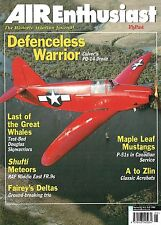 AIR ENTHUSIAST MAY-JUN 01: FAIREY FD1 & 2/ FR.9 METEOR/ GIPSY MOTH GREENLAND OPS