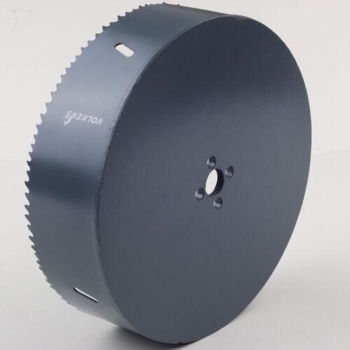 """Ø 180 mm 45 mm Bohrtiefe HSS BiM Lochsäge Bohrkrone 5//8/"""" x18 UNF für Metall Holz"""