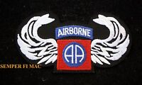 US ARMY AIR CORPS AIRBORNE WINGS COLLECTOR PATCH USAF AIR FORCE WORLD WAR 2 II