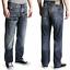 Nudie-Herren-Regular-Straight-Fit-Jeans-Hose-B-Ware-Neu-Blau-Schwarz Indexbild 23