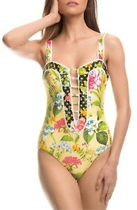ISABELLA-ROSE-Sweet-Surrender-Floral-Print-One-Piece-Swimsuit-Size-S-P