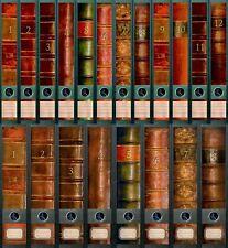 "File Art - 20 Ordnerrücken Design Etiketten ""Folio""..............311+312+609+610"