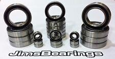 Traxxas Xmaxx 6 & 8s wheel hub bearing kit 8 pcs sealed Jims Bearings