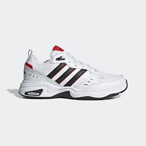 Adidas-Strutter-EG2655-Men-Casual-Shoes-White-Black-Red