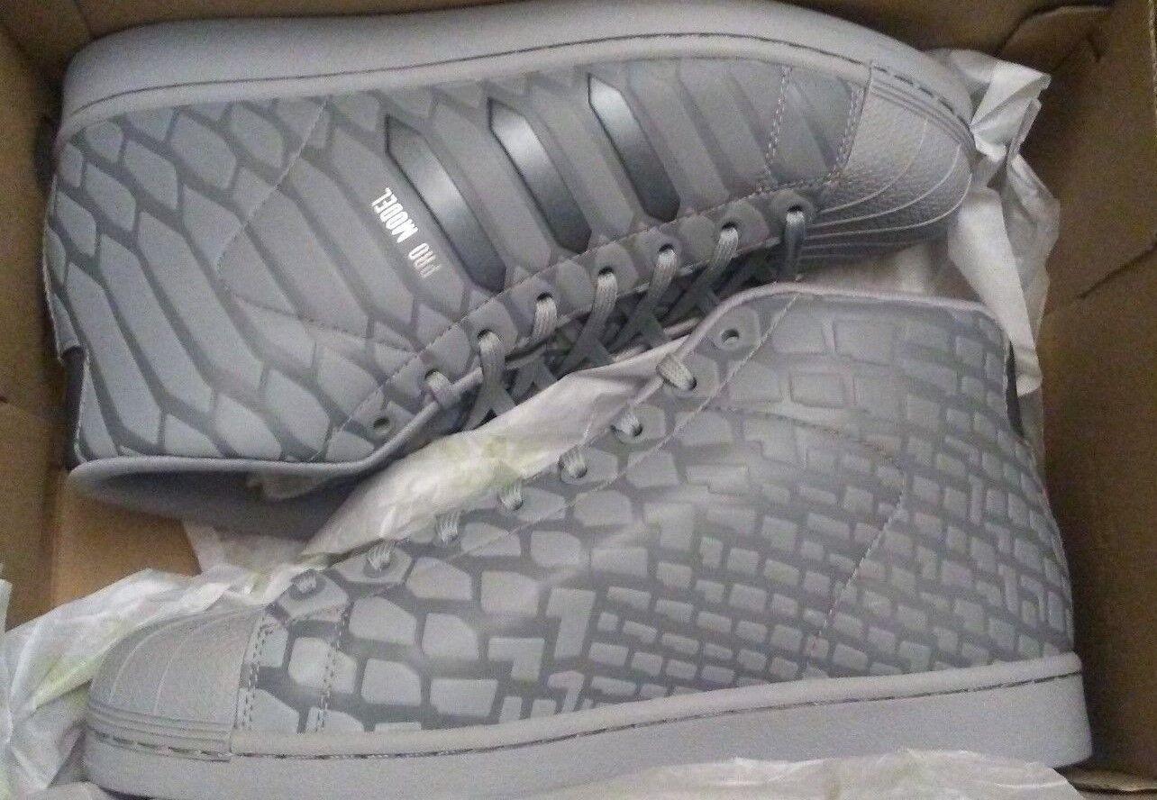 Adidas originals pro model high gray - top - hallo gray high / reflektierende schuhe fa506e
