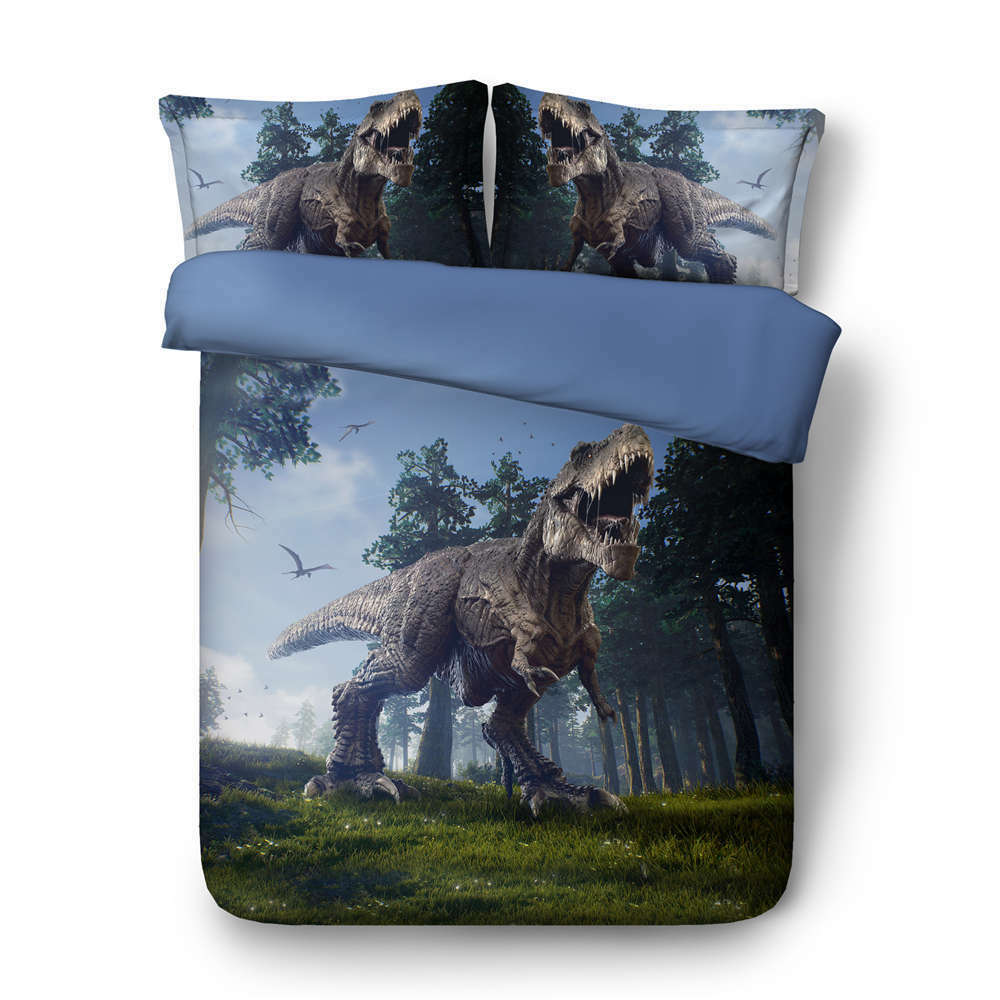Big Tyrannosaurus 3D Printing Duvet Quilt Doona Covers Pillow Case Bedding Sets