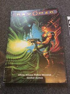 Kryomek-First-Ed-1991-25mm-Science-Fiction-Skirmish-Combat-System