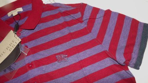 Logo Burberry 00 Nuova Collezione Polo 225 46 Cotone Brit Tg Cart Righe ZZqAfnTg