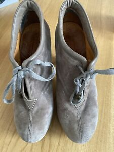 Chie-Mihara-Suede-Shoe-Boots-Size-38-5
