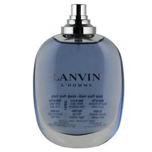 LANVIN-L-039-HOMME-3-4-edt-3-3-oz-Cologne-New-Tester
