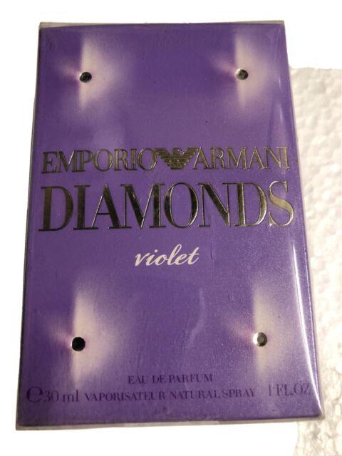 Emporio Armani Diamonds Violet 30ml Eau De Parfum FOR HER, BRAND NEW AND SEALED.
