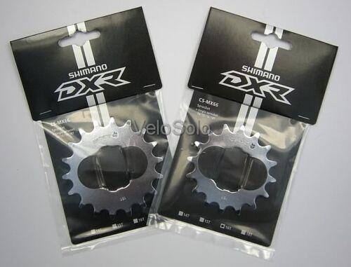 SHIMANO DX R  3//32 SINGLESPEED COG 14 16 18 BMX single speed splined CRO-MO DXR