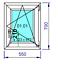 Finestre-in-PVC-Aluplast-col-Bianco-con-Anta-amp-Ribalta-Vetro-Basso-Emissivo miniature 37