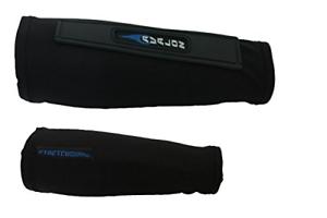 Nouveau Avalon Archery Stretch Compression Arm Guard Bracer Bouclier renforcé noir