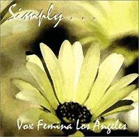 Simply Vox Femina Los Angeles Audio Cd Multiple Artists Levine, Dr. Iris S.
