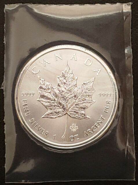 2014 Canada Maple Leaf 1 oz Fine Silver Coin - GEM UNC - SEALED