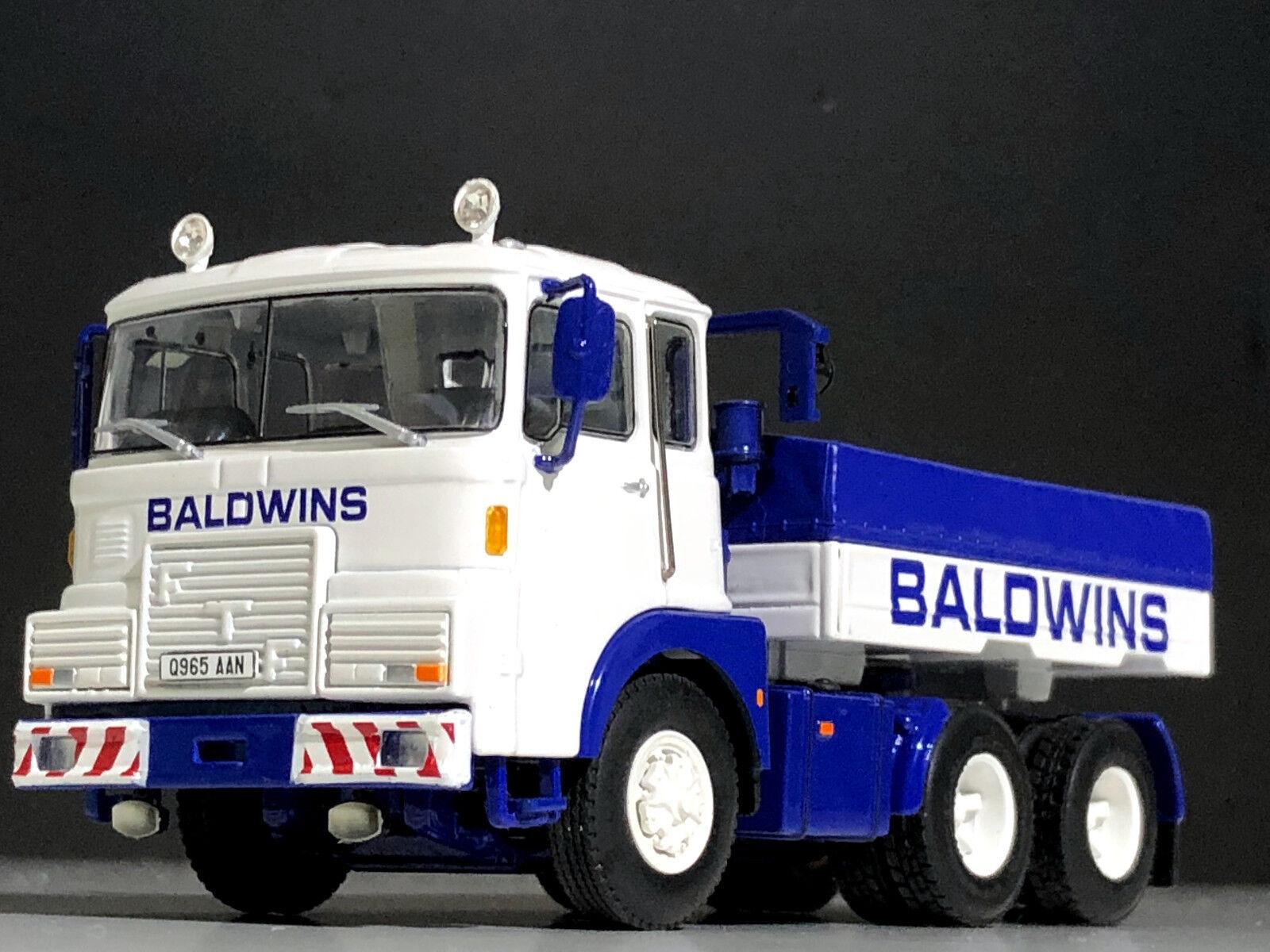 WSI CAMION modelli, FTF F-Series 6x4 + ALIUomoTATORE BOX  BALDI Crane Hire