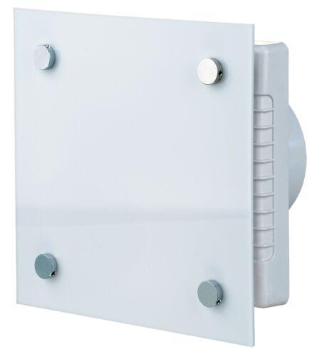 Design-Abluftventilator mit Nachlauf-Timer und elektrischem Innenverschluss