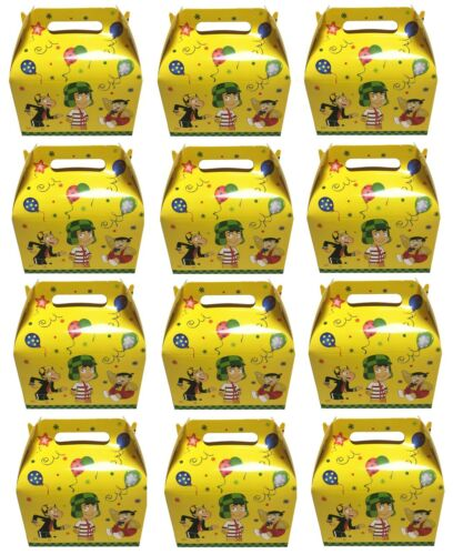 12x El Chavo Del 8 Birthday Favors Gift Box treat candy boxes Cajas Para Dulces