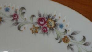 Fine China Dinnerware Set NASCO Japan Linda Floral Design EUC 30 pieces