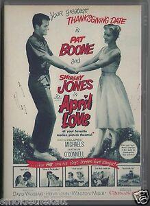 april lovepat boone movie dvdrocknrollrockabilly 1950s