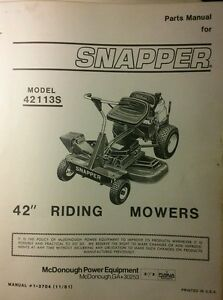 Details about Snapper 42113S 42