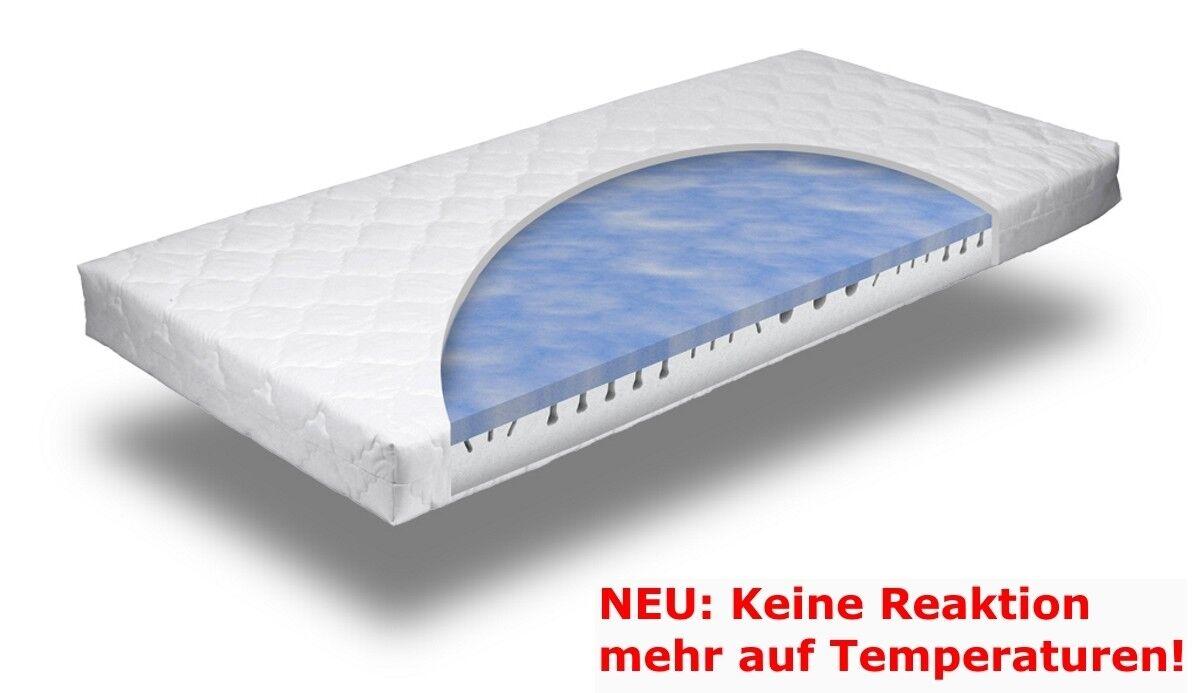 7 Zonen Gelschaum Matratze NEU temperaturneutral 16 cm H2 od. H3 Gel Gelmatratze
