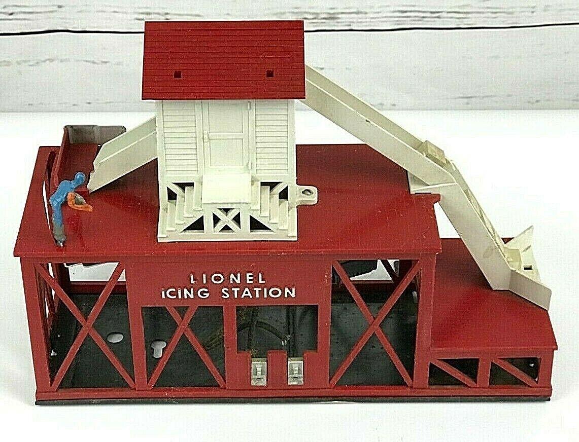 Lionel 352 O Scale Operating Icing Station Building Vintage Postwar Tested RARE