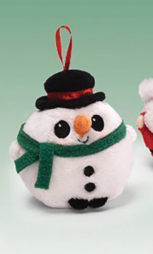Gund Jeepers Peepers Ornaments Snowman