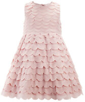 Girls Monsoon Dress Baby Toddler Pink Carmen Bridesmaid Party Christening