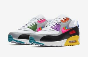 Details about NIKE ID AIR MAX 90 HYPERFUSE VOLT Safari Wotherspoon Parra Atmos SZ 9