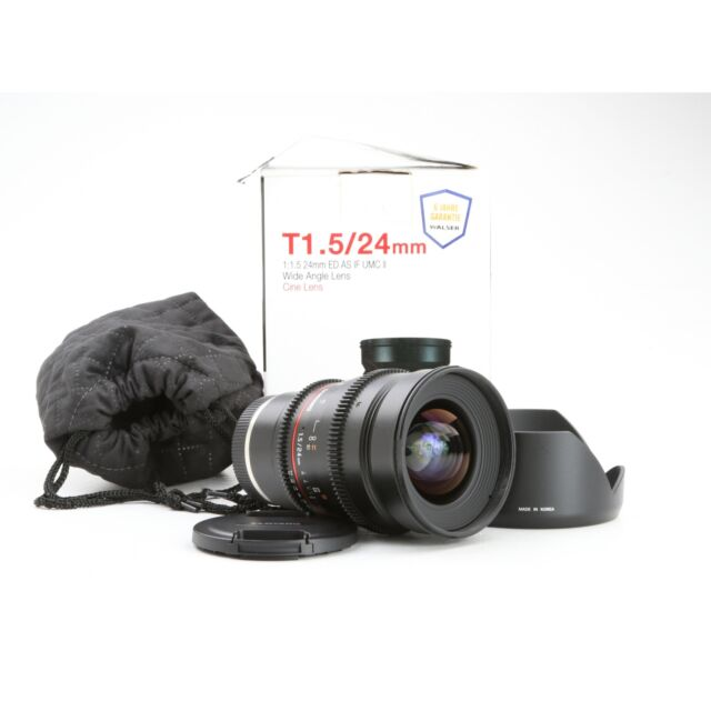 Samyang UMC 1,5/24 ED AS IF Sony E-Mount (Cine Lens) + NEU (229908)