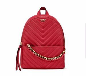 4f9c12aba415 Victoria s Secret VS Pebbled V-Quilt mini Small City Backpack NEW ...