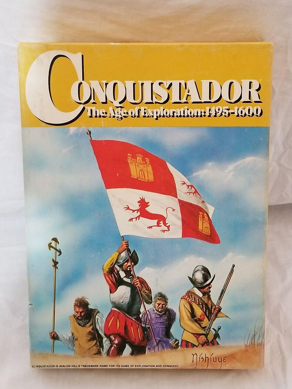 CONQUISTADOR BOARD GAME BY AVALON HILL