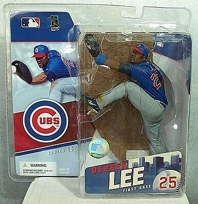 Mcfarlane MLB Sports Picks Derek Lee Chicago Cubs 3 Inch Mini Series